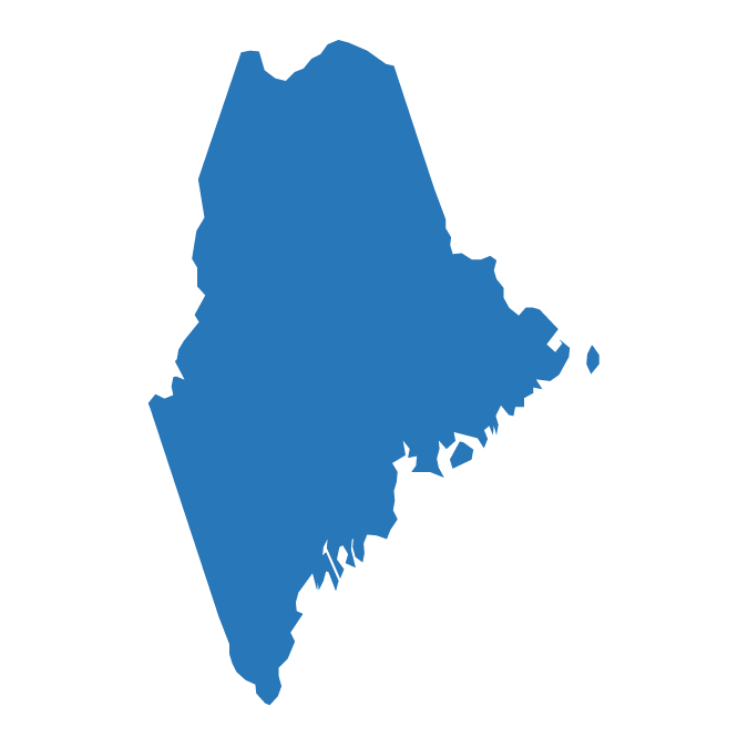Outline of Maine: