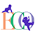 ECO logo, the logo depicts silhouetted infants crawling on and swinging in the ECO lettering