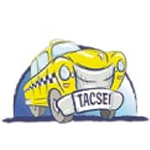 TACSEI logo (a cartoon image of a Taxi cab)