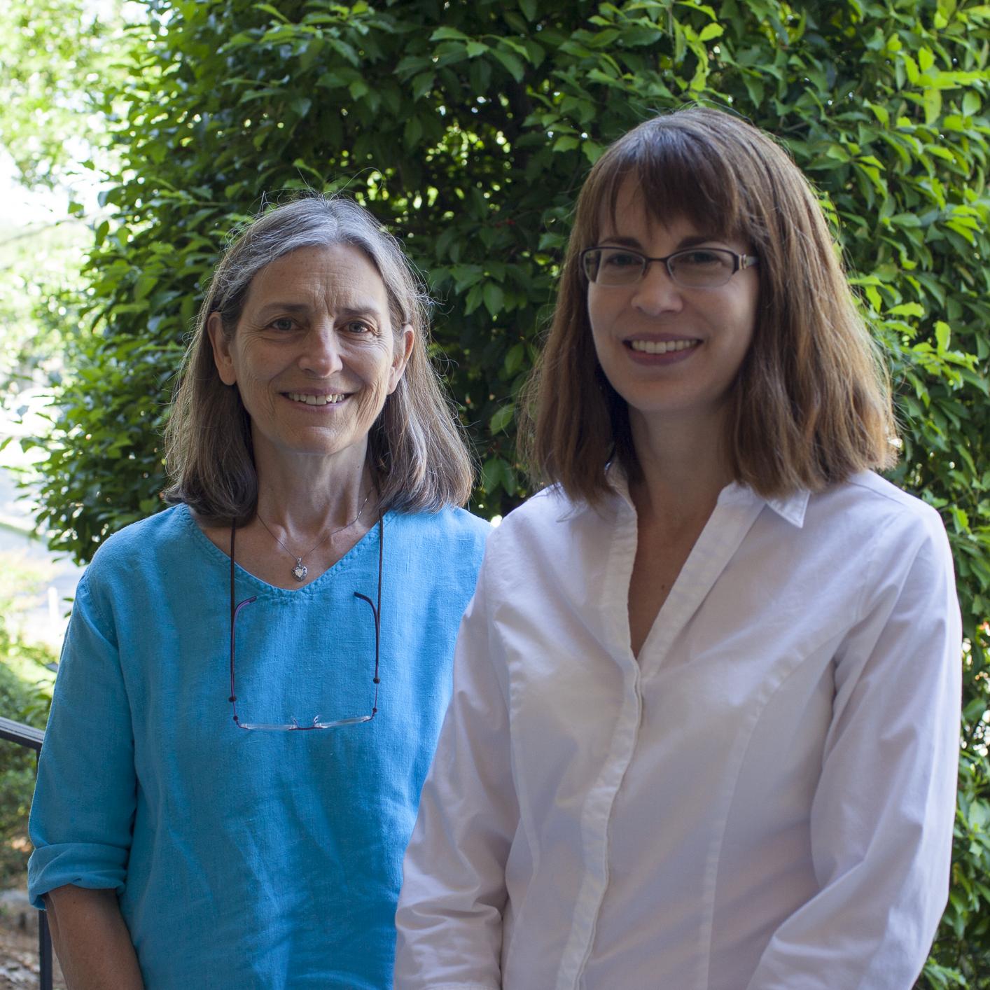 Photograph: Sue Goode (left), Sonya Detwiler (right)