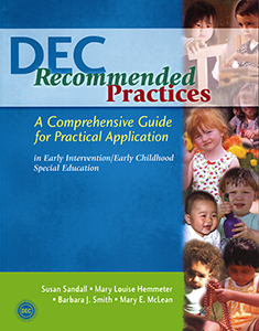 Publication Cover: Previous Edition of the DEC Recommended Practices