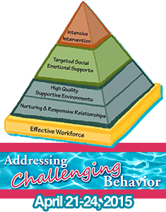 Photograph: 2015 National Training Institute on Effective Practices: Addressing Challenging Behavior. April 21-24, 2015