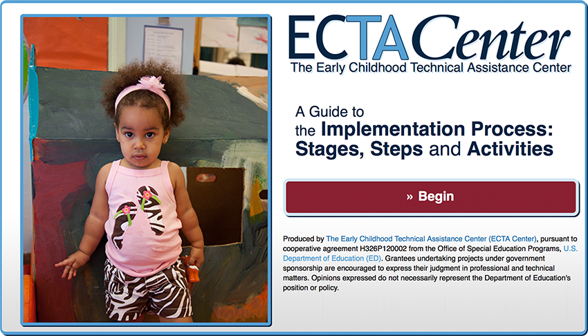 Go to: a Guide to the Implementation Process: Stages, Steps & Activities