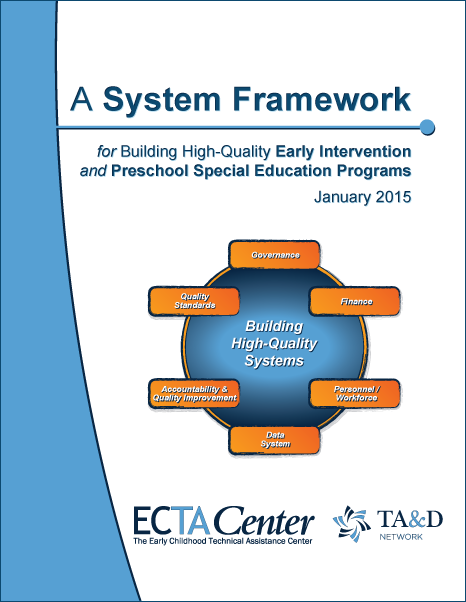 Ectacenter the early childhood technical assistance center cover image system framework document malvernweather Image collections
